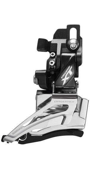 Shimano Deore XT FD-M8025 Umwerfer 2x11-fach Direktmontage Top Pull schwarz/silber